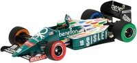 "Benetton Ford B186 ""GP. USA - Detroit"" nº 19 Teo Fabi (1986) Minichamps 1/43"