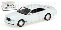 "Bentley Brooklands ""White Edition"" (2007) Minichamps 1/43"