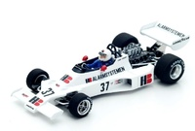 "Boro 001 ""GP. Bélgica"" nº 37 Larry Perkins (1976) Spark 1:43"