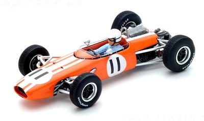 """Brabham BT11 GP. Mónaco"""" n°11 Frank Gardner (1965) Spark 1/43"""