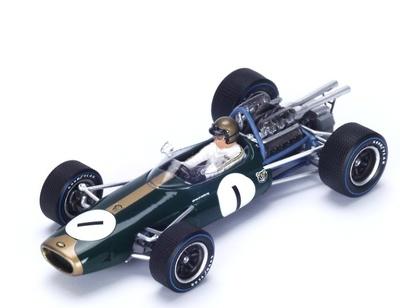 """Brabham BT19 """"2º GP. Holanda"""" nº 1 Jack Brabham (1967) Spark 1:43"""