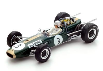 Brabham BT19 nº 3 Jack Brabham (1966) Spark 1:18