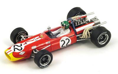 "Brabham BT20 ""5º GP Holanda"" nº 22 Silvio Moser (1968) Spark 1/43"