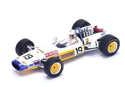 "Brabham BT20 ""GP. Sudáfrica""nº 19 Peter de Klerk (1969) Spark 1:43"