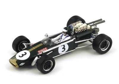 "Brabham BT24 ""3º GP. Sudafrica"" nº 3 Jochen Rindt (1968) Spark 1:43"