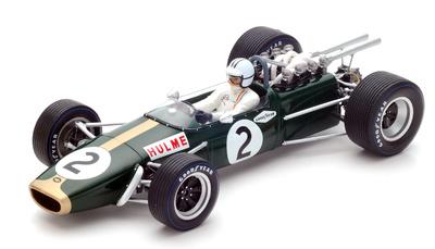 "Brabham BT24 ""GP México"" nº 2 Denis Hulme (1967) Spark 1:18"