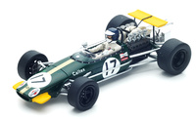"Brabham BT24 ""GP. Alemania"" nº 17 Kurt Ahrens  (1968) Spark 1:43"