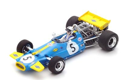 """Brabham BT33 """"GP Mónaco"""" nº 5 Jack Brabham (1970) Spark 1:43"""