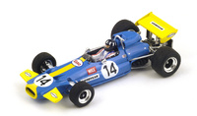 "Brabham BT33 ""GP. Sudáfrica"" nº 14 Graham Hill (1971) Spark 1:43"