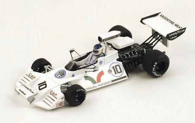 """Brabham BT42 """"3º GP. USA"""" nº 10 Carlos Reutemann (1973) Spark 1:43"""