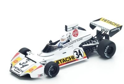 """Brabham BT42 """"GP. Bélgica"""" nº 34 Teddy Pilette (1974) Spark 1:43"""