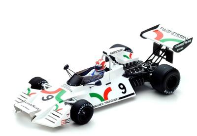 """Brabham BT42 """"GP. Italia"""" nº 9 Rolf Stommelen (1973) Spark 1:43"""