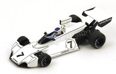 """Brabham BT44 """"1º GP. USA"""" nº 7 Carlos Reutemann (1974) Spark 1:43"""