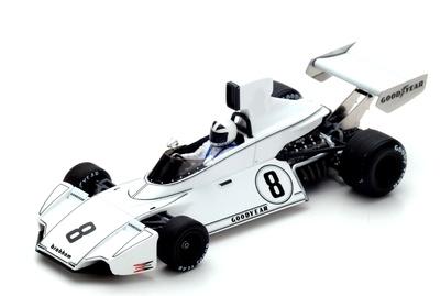 """Brabham BT44 """"GP. Brasil"""" nº 8 Richard Robarts (1974) Spark 1:43"""
