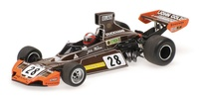 Brabham BT44 nº 28 John Watson (1974) Minichamps 1:43