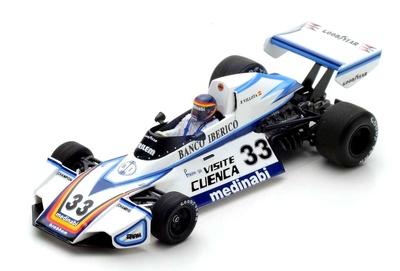 "Brabham BT44B ""Test GP España"" nº 33 Emilio de Villota (1976) Spark 1:43"