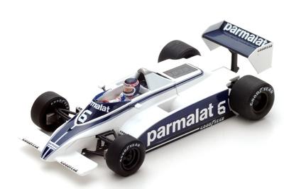 "Brabham BT49 ""7º GP. Argentina"" nº 6 Ricardo Zunino (1980)  Spark 1:43"