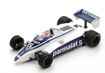 """Brabham BT49 """"GP. Long Beach"""" nº 5 Nelson Piquet (1980) Spark 1:43"""