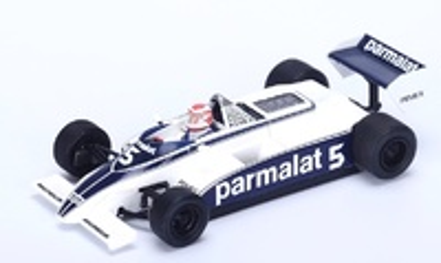 "Brabham BT49C ""1º GP. Argentina"" 1981 nº 5 Nelson Piquet (1981) Spark 1:43"