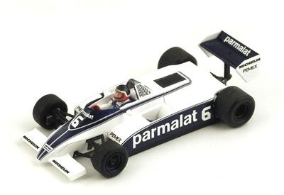 "Brabham BT49/C ""GP. Mónaco"" nº 6 Hector Rebaque (1981) Spark 1:43"