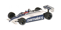 "Brabham BT49C ""Test Paul Ricard"" Minfred Winkelhock (1981) Minichamps 1/43"