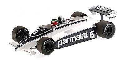 Brabham BT49C nº 6 Hector Rebaque (1981) Minichamps 1:18