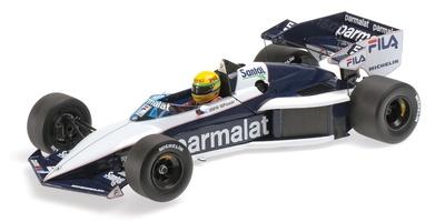 "Brabham BT52B ""Test Paul Ricard"" Ayrton Senna (1983) Minichamps 1:18"