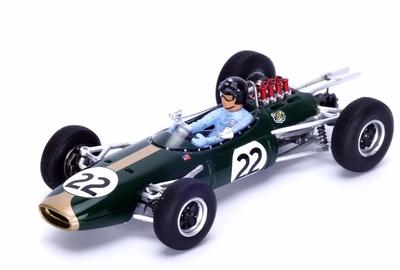 "Brabham BT7 ""GP. Francia"" nº 22 Dan Gurney (1964) Spark 1:43"