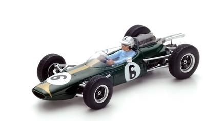 "Brabham BT7 ""GP. Francia"" nº 6 Jack Brabham (1963) Spark 1:43"