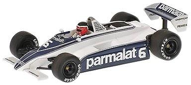 Brabham Ford BT49C nº 6 Héctor Rebaque (1981) Minichamps 1/43