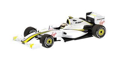 Brawn BGP001 nº 23 Rubens Barrichello (2009) Minichamps 1/43