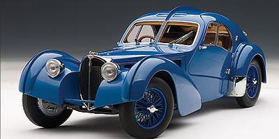 Bugatti 57SC Atlantic (1938) Autoart 1/18
