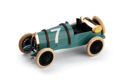 "Bugatti Brescia ""GP. Gran Bretaña"" nº 7 (1921) Brumm 1/43"