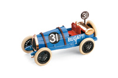 Bugatti Tipo 13 Brescia nº 31 (1921) Brumm 1/43
