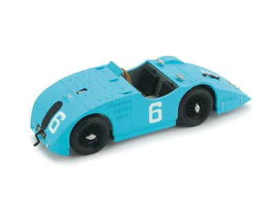 """Bugatti Tipo 32 Tank """"3º GP. A.C.F. Francia"""" nº 6 Friedrich (1923) Brumm 1/43"""