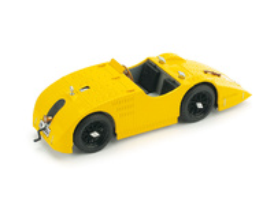 """Bugatti Tipo 32 """"Tank"""" de calle (1923) Brumm 1/43"""