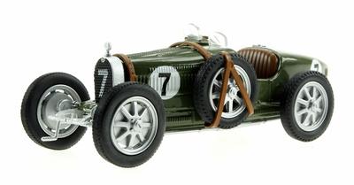 """Bugatti Tipo 35 nº 7 """"Equipo Inglés"""" (1920-30) Eligor 1/43"""