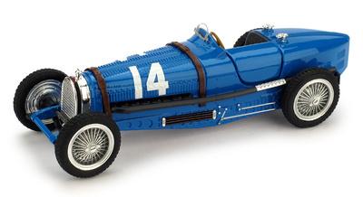"""Bugatti Tipo 59 """"GP. Francia"""" nº 14 Tazio Nuvolari (1934) Brumm 1/43"""