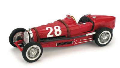 "Bugatti Tipo 59 ""GP. Mónaco"" nº 28 Tazio Nuvolari (1934) Brumm 1/43"