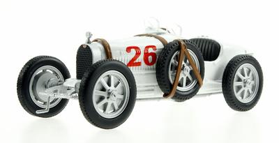 """Bugatti tipo 35 nº 26 """"Equipo Alemán"""" (1920-30) Eligor 1/43"""