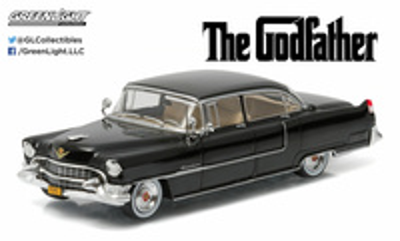 "Cadillac Fleetwood serie 62 ""El Padrino"" (1955) Greenlight 1/43"