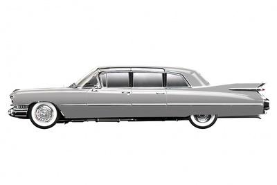 Cadillac Serie 75 Limousine (1959) True Scale 1/43