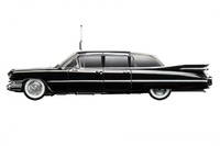 "Cadillac Serie 75 Limousine Bubble Top ""Queen Elizabeth II"" (1958) True Scale 1/43"