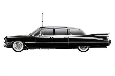 "Cadillac Serie 75 Limousine Bubble Top ""Queen Elizabeth II"" (1958) True Scale 1/43"