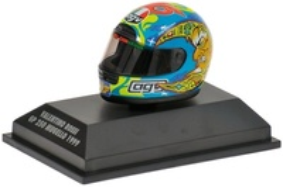 """Casco AGV """"GP. Mugello 250"""" Valentino Rossi (1999) Minichamps 1/8"""