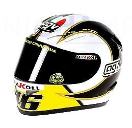 "Casco AGV ""MotoGP"" Valentino Rossi (2006) Minichamps 1/2"