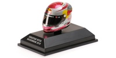 """Casco Arai """"GP. Alemania"""" Sebastian Vettel (2010) Minichamps 1:8"""
