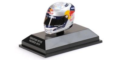 """Casco Arai """"GP. Europa"""" Sebastian Vettel (2010) Minichamps 1:8"""