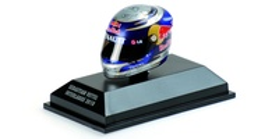 "Casco Arai ""GP. Interlagos"" Sebastian Vettel (2010) Minichamps 1:8"