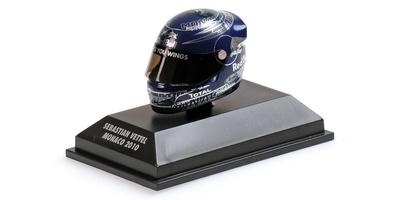 "Casco Arai ""GP. Mónaco"" Sebastian Vettel (2010) Minichamps 1:8"